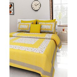 Dashing Look Pure Cotton Printed Bedsheets