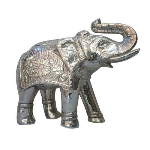 Elephant Silver Statue