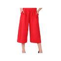 Ladies Red Palazzo Pants
