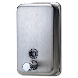 Steel Manual Soap Dispenser