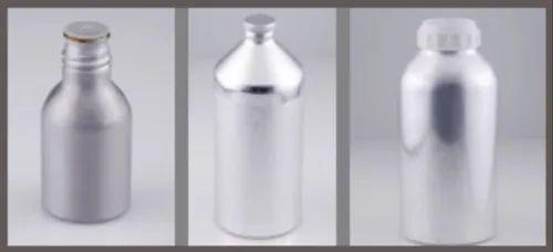 Aluminium Bottles - Easy Open Lid Type - Gracious Bottles