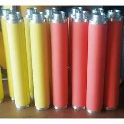 Yellow And Red Compressed Air Filters, Air Filter, 200 cfm