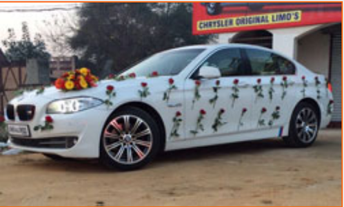 Bmw 5 Series Car Rental Service Wedding Car Hire Delhi New Delhi