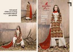 RICH TRENDZ BEGUM VOL NO-2 Cotton With Embroidery & Abala Work SALWAR KAMEEZ