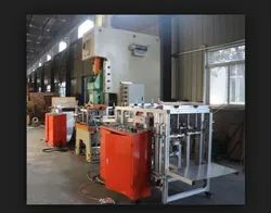 Fully Automatic Four Cavity Aluminum Foil Container Making Machine