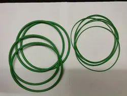 Green Rubber O Ring