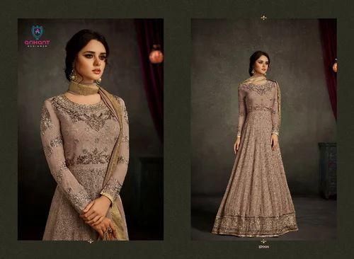 10e122cf7f8 Anarkali Salwar Kameez - Beautiful Designer Party Wear Anarkali Suit ...