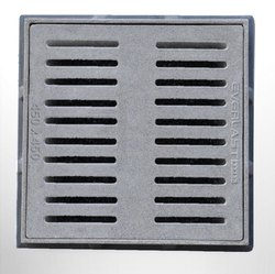 FRP Gully Gratings 450x450 mm 5 Ton for Industrial