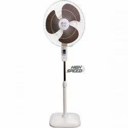 55 watts White Orient Pedestal Fan