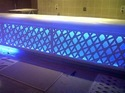 Acrylic Solid Surface Backlit Bar Counter
