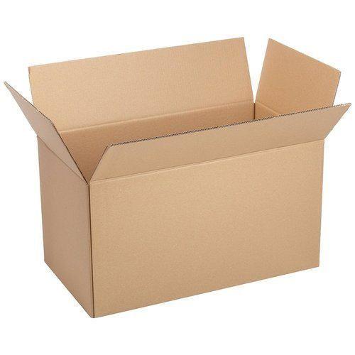 Brown 6-10 Kg Corrugated Box