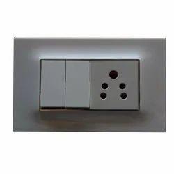 2 Module Modular Electric Switch Board