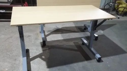 Wooden White Folding Table Rs 5300