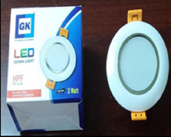 GK Round 3W LED DOWNLIGHT, for Indoor