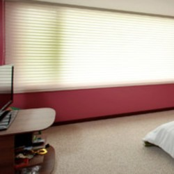 Polyester Fabrice Triple Shade Blinds