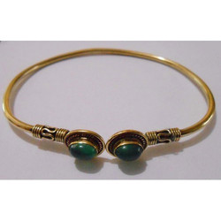 Fancy Brass Bangle