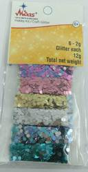 Glitter Powder for Children Art & Craft (ASL-027)