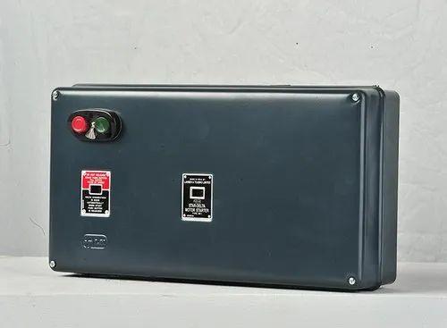 Three Phase Mk1 Semi Automatic Star Delta Starter Mk1 Sasd Starters Voltage 415v 360 V Rs 5000 Piece Id 21164985633