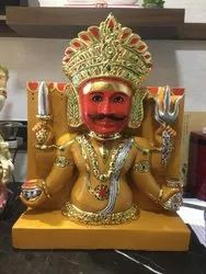 Traditional Yellow Handicraft Statue, Size: 20 - 40 Inch