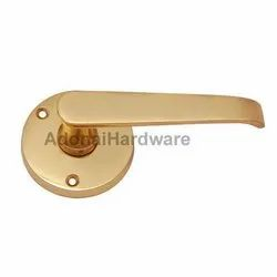 Amon Brass Handle with Rose