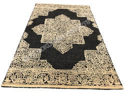 SGE Picture Hooked Rug
