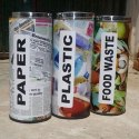 SS Printed Dustbin