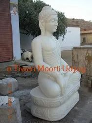 Marble Buddha Releif Statue