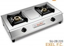 Double Burner Gas Stove SU 2B-220 Excel