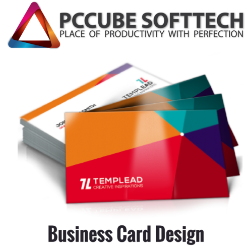 Creative Business Card Design Printing Pcube Softechs Id