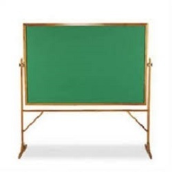 Green Chalk Board Moveable