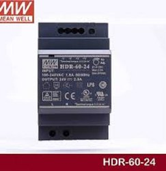 60W Ultra Slim Step Shape Din Rail Power supply