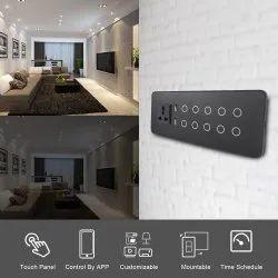 I sense Single Phase 10 Switch Touch Panel, Switch Size: 6 Modular, 110v-220v