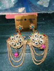 Stone Multicolor Earring