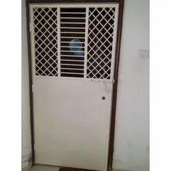 Powder Coated Iron Single Door