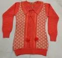 Female Girls Woolen Top, Size: 24 To 36