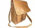 Genuine Goat Leather Messenger Bag