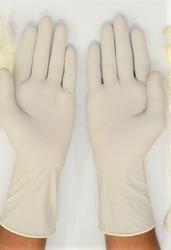 Sterile Non Powder Surgical Hand Gloves 16 Inch