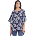 Cottinfab Women's Floral Printed Kaftan