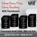 Lemon Scent Wiz Formula 5 Hand Wash 750ml Pouch, Packaging Size: Box