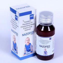 Paracetamol 125 mg Phenylepherine 5 mg CPM 1mg Suspension