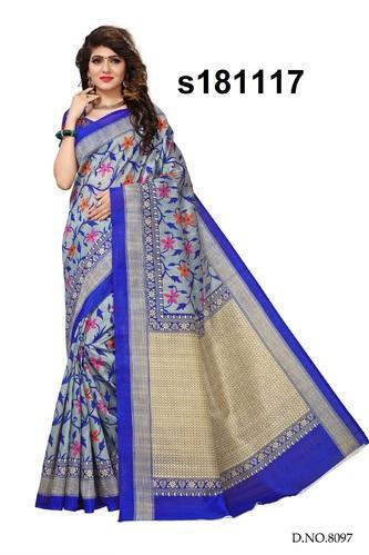 462970241 Printed Mysore Silk Sarees