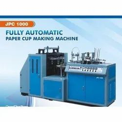 Jain Industries Single Phase Fully Automatic Paper Cup Forming Machine