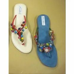 7d78ba6465bf Ladies Casual Wear Flat Slipper