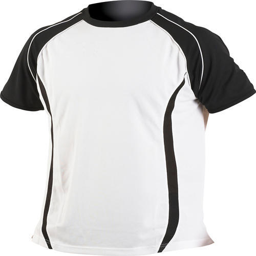 78492917 Men White And Black Sports T Shirt, Rs 450 /piece, Beeman Sports ...