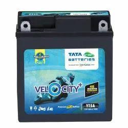 YT5A TATA Green Velocity Plus Two Wheeler Battery
