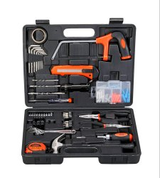 Black Decker Hand Tool Kit (108-Piece), Orange and Black