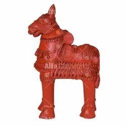 Terracotta Cow Statue