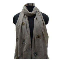 Merino Wool Designer Fancy Stole