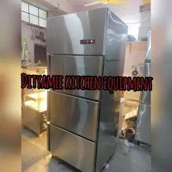 Commercial SS Refrigerator Three Doors