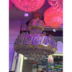 Modern Authentic Crystal Chandelier, Shape: Round